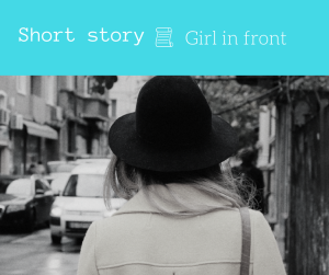 girl in front short story blog flash fiction